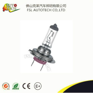 Three Ceramic Base H7 White Light Car Halogen Bulb Auto Lamp pictures & photos