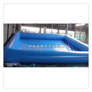 Top Craft Blue Inflatable Swimming Pool From Guangzhou Factory