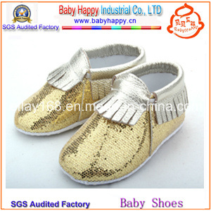 Latest Design Baby Girl Infant Leather Shoes