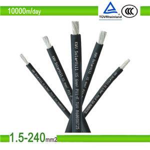 Asian Sun TUV Standard PV Solar Cable 10mm pictures & photos