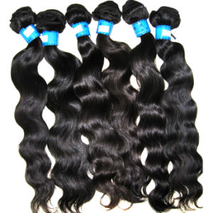 Peruvian Virgin Remy Human Hair Extension, Factory Wholesale Price, Body Wave, Natural Color
