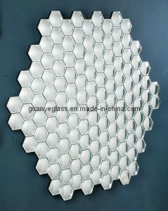 Hexagon Glass Deco Mirror (XGJ008)