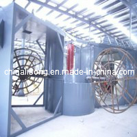 3 Arms Plastic Shuttle Rotomolding Machinery