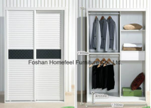1.2 M Modern Custom Sliding Wardrobe Closet pictures & photos