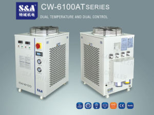 CO2 Laser Water Cooler Cw-6100at Dual-Temperature Control