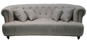 French Style Fabric Sofa Wooden Sofa (SF-2836)