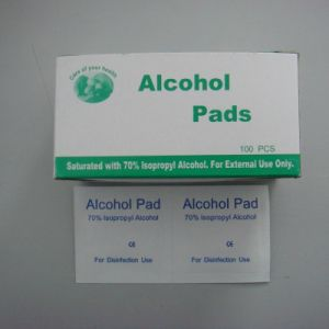 Alcohol Pad/Alcohol Swab /Alcohol Prep Pad pictures & photos