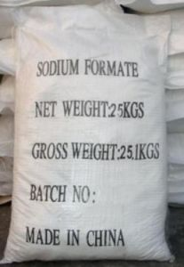 Used in Textile and Leather Factories Sodium Formate 98% Purity pictures & photos