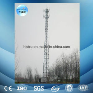 Angle Steel Telecommunication Tower with Antenna Support