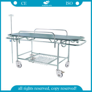 AG-HS015 Cheap Stretcher Stainless Steel Frame Hospital Stretcher Prices pictures & photos