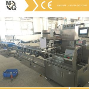 Single Lane Cookies Feeding and Packing Machine pictures & photos