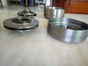 Oil-Submerged Pump Impeller Ni-Resist Cast Iron Impeller