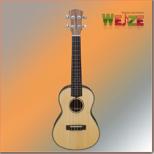 Hot Sale Spruce+Zebrawood Plywood Ukulele pictures & photos