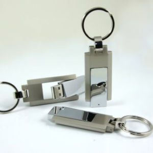 Metal USB Flash Drive Rotary USB Memory Stick Swivel Pendrive pictures & photos