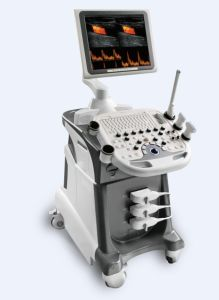 CE and FDA Trolley Color Doppler (C21)