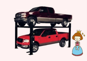 Ce Four Post Hydraulic Car Parking Lifter/Car Parking Lift