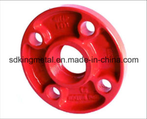 Ductile Iron 300psi Grooved Threadead Flanges pictures & photos