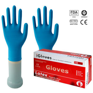 Disposable Latex Examination Gloves - Medical Grade and Industrial Grade pictures & photos
