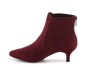 Red Black Sexy Women Ankle Boots (HT1007-3) pictures & photos