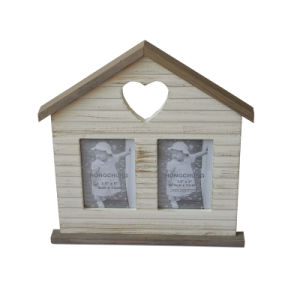 Funny House Wooden Picture Frame for Home Decor pictures & photos