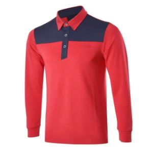 Golf Shirts Dry Fit Long Sleeve Assorted Color Autumn Sports Shirts pictures & photos