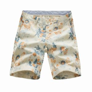 100% Cotton Flower Printed Men′s Shorts (41319G5) pictures & photos