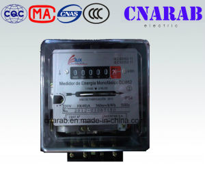 South America Single Phase Mechanical Kwh Meter with PC Cover Dd862 pictures & photos