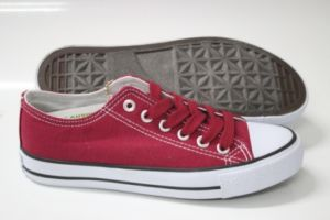 Girl/Lady Basic Style Canvas Footwear (SNC-210001) pictures & photos