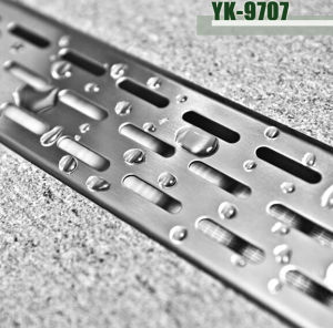 Shower Cabin Accessory - Stainless Steel Long Shower Floor Drain (YK-9707)