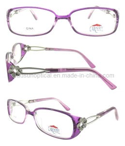New Style Metal Pattern Temples Optical Frame Glasses (OCP310067) pictures & photos