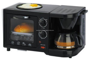 Breakfast Maker with Toast Oven Coffee Maker and Pan pictures & photos
