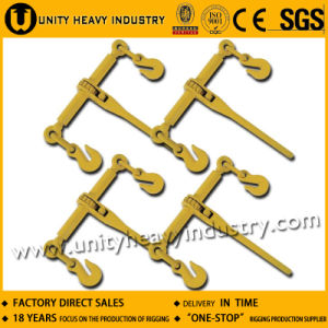 G70 Forged Ratchet Type Chain Tensioner Load Binder with Hooks