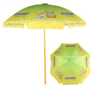 Multi Color Printing Beach Umbrella (OCT-BUAD10) pictures & photos