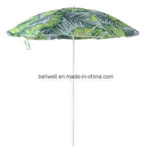 Large Size Beach Umbrella With Printing Design