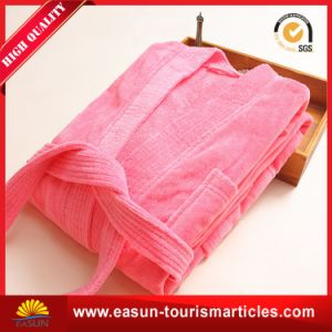 Wholesale Waffle Hotel Sleepwear Bathrobe pictures & photos