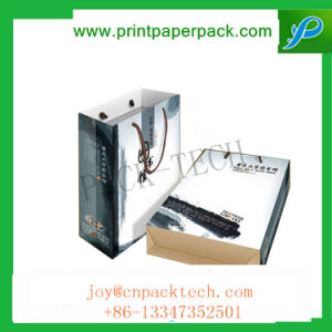 Custom Design Prmotional Recyclable Luxury Retail Kraft Paper Bag pictures & photos