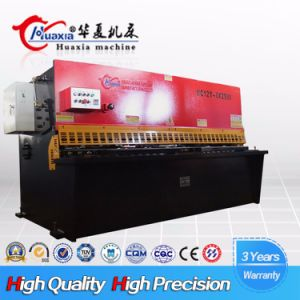 Chinese Manufacture QC12k 6*3200 Carbon Steel Swing Beam Shearing Machine pictures & photos