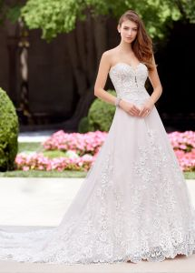 43d18ec57c3 Amelie Rocky Sexy Sweetheart 2018 Custom Made Strapless Wedding Dress  Picture