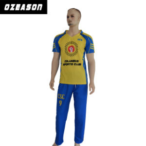 2016 New Design Custom Pattern Cricket Sports Jerseys pictures & photos