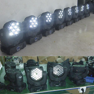 Stage LED RGB 36X3w Beam Moving Head Wash pictures & photos