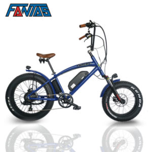 Fastest E Bike >> China Fantas Bike Chopper Bike 48v500w Fastest Electric Bike China