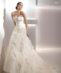 2011 Organza Wedding Gown (JM-1081)