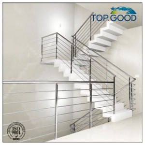 Stainless Steel Stair Balcony Flooring Railing