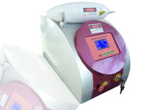 Q Switched YAG Laser Tattoo Removal Equipment for Removing Black Moles