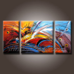100% Handpainted Modern Abstract Art Oil Painting on Canvas (KLA3-0049)