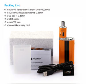 Joyetech Evic-Vt 5000mAh 60W Temperature Control Mod E Cigarette pictures & photos
