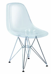 Modern Designer Furniture Plastic Acrylic Clear Eames Dining Chair