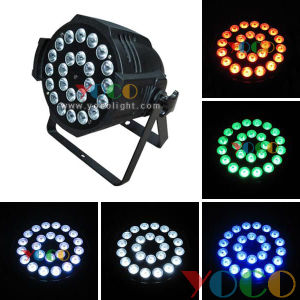 24*15W RGBWA UV 6in1 LED Stage Disco PAR Can Light