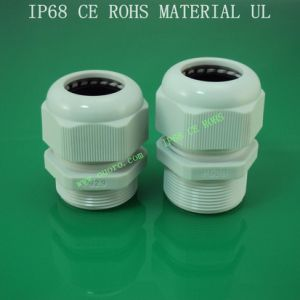 Plastic Cable Gland,Pg-Lengthen Series,Nylon6, Waterproof, Dustproof, IP68, CE, RoHS