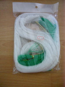 White and Green Color Cucumber Net (HT-CN-01)